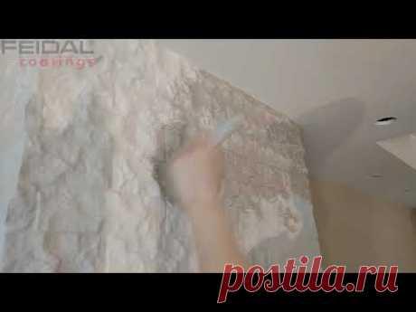 Декорирование камина акриловыми эмалями с эффектом метала!