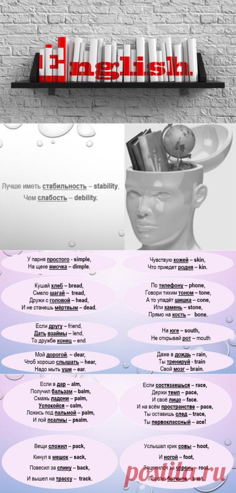 Как быстро выучить части тела на английском? | Обучение
