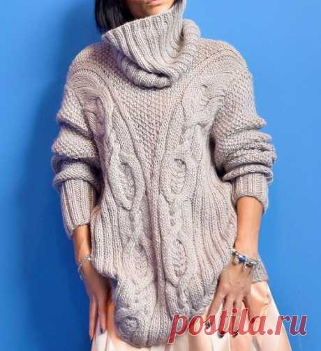 Модные, стильные, эффектные! Подборка вязаных свитеров (часть 2) | Идеи рукоделия | Яндекс Дзен