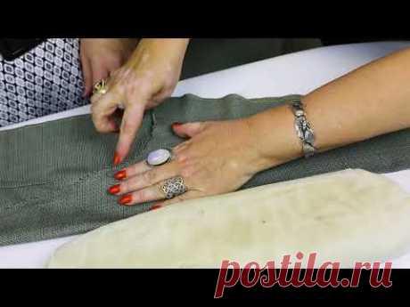Лекция о посадке брюк Как посадить брюки на фигуру Формование брюк в процессе изготовления Часть 3 - YouTube