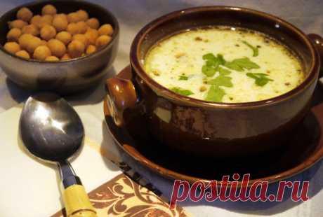 Сливочно-сырный суп с фаршем