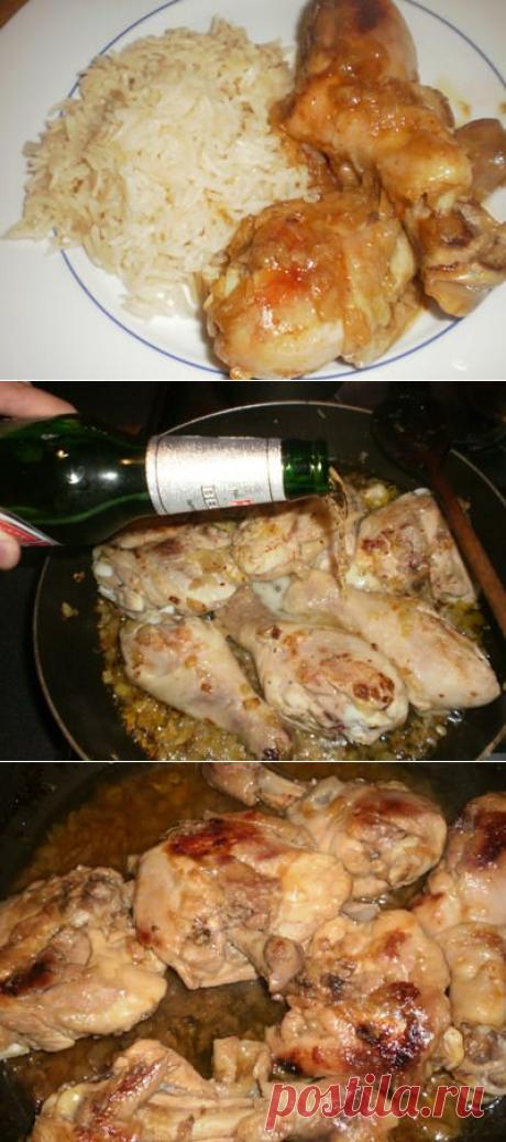 """Кулинарный хит: """"Курица в пиве""""!"""