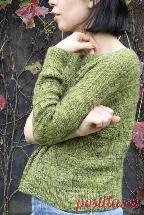 Вязаный пуловер Moor