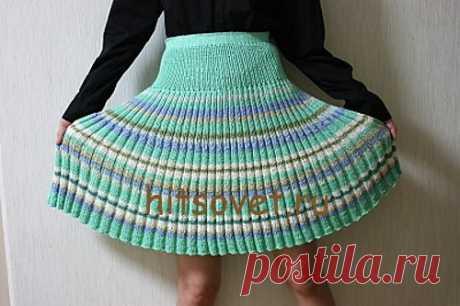 La falda del plisado por los rayos - Hitsovet