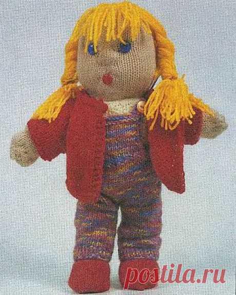 Кукла Даша с нарядами / Вязаные игрушки / В рукоделии