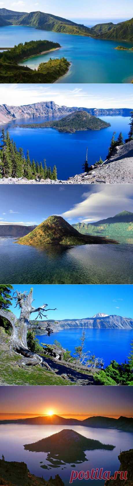 (+1) тема - Красоты озера Крейтер | Непутевые заметки