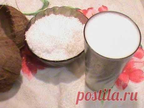 Coconut oil recipe.