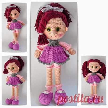 Кукляндия: Кукла амигуруми Candy girl