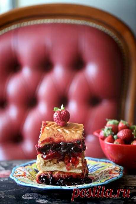 Ягодный пирог как у любимой бабушки | Блоги о даче, рецептах, рыбалке
