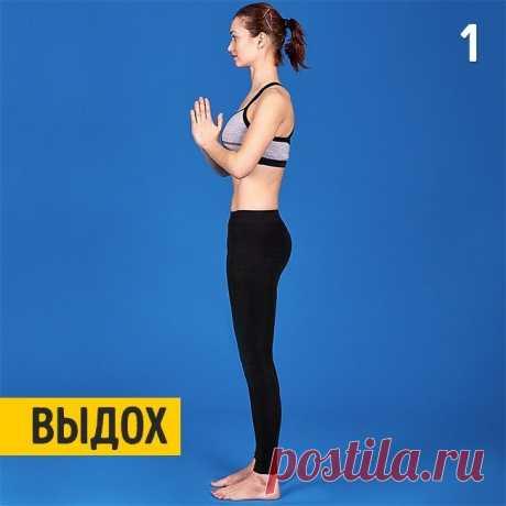 Упражнения для тех, кто хочет заняться йогой / Все для женщины