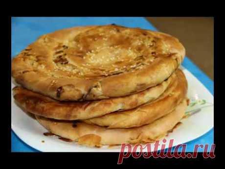 ЛЕПЁШКА  ФАТИР! (ПАТИР) Узбекская кухня.