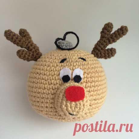 Новогодние шарики крючком - Ярмарка Мастеров - ручная работа, handmade