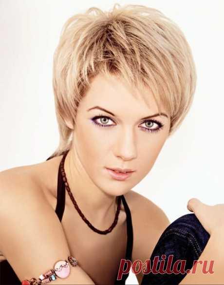 причёски для коротких волос: 88 тыс изображений найдено в Яндекс.Картинках