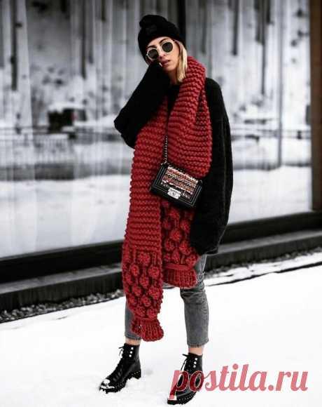 Мех, крупная вязка и клетка: модные шарфы осень-зима 2020-2021 | Joy-Pup - всё самое интересное! | Яндекс Дзен