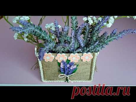 SFOARA si QUILLING, gentuta hand made - STRING and QUILLING, hand made bag