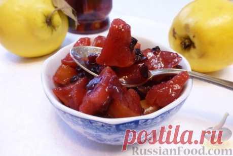 Айвовое варенье - рецепты со сноровкой