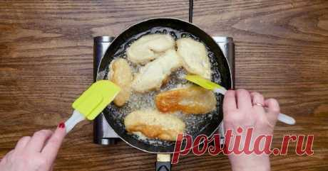 Пожалуй, лучший кляр для рыбы: словно кто-то окунул кусочки в плотную пену... Филе белой рыбы не стоит готовить иначе, да-да!
