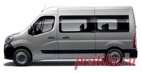 Renault Master / Рено Мастер. Еще один тяжеловесный пассажирский фургон - Renault Master Crew Van. Как его Мерседес и Форд конкуренты , это шестиместный автомобиль (в два ряда по три), и он ориентирован на рынок рабочих транспортных средств, а не на пассажирские перевозки или семейный сектор