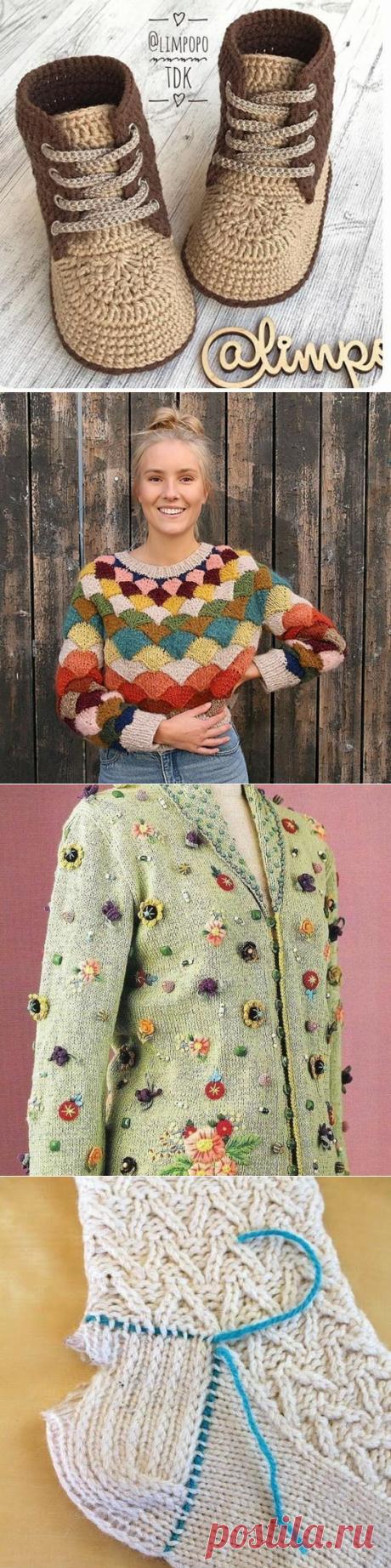 🌷Вязаное вдохновение!🌷 (@world_of_knitted_ideas) • Фото и видео в Instagram