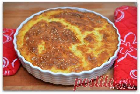 Ленивый капустный пирог — Привет, Кухонька! Пошаговые рецепты с фотографиями