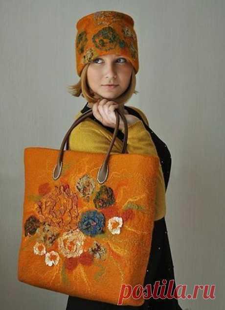 30 идей сумок из шерсти