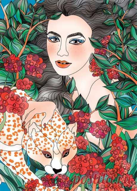 Ella Tjader Ты восхитительная, как бутон цветка...