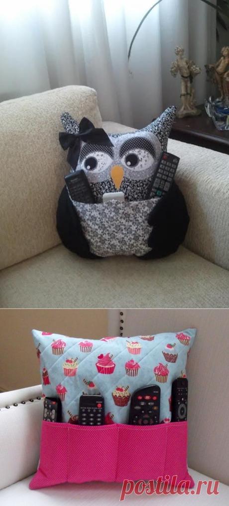 21 восхитительная идея создания декоративных подушек. Это под силу даже тем, кто не умеет шить. — Копилочка полезных советов