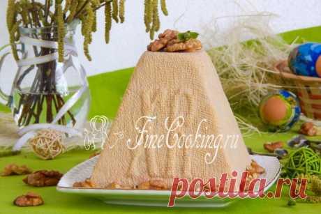 Карамельная пасха - рецепт с фото