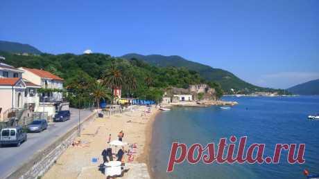 Sidro (Anchor) beach, Meljine, Herceg Novi, Montenegro. | Mapio.net Zapperix Zalle