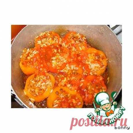 Фаршированный перец - кулинарный рецепт