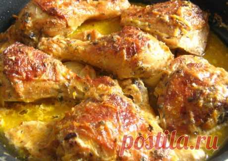 Курица в молоке от Дж. Оливера - пошаговый рецепт с фото.