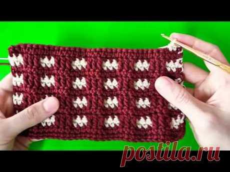 Красивые и легкие в исполнении узоры крючком | Вязание | Яндекс Дзен