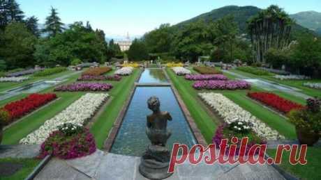 Ботанические сады «Вилла Таранто» в Италии
