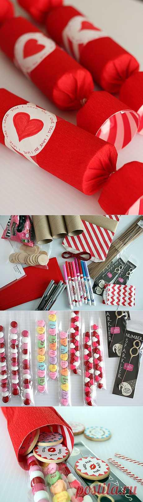 Идеи для праздника, подарки » Сладкий сюрприз на День Святого Валентина