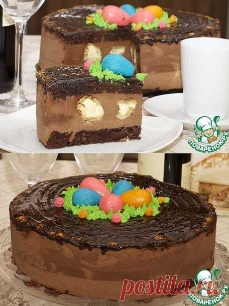 Торт праздничный Пасхальный. Автор: Марина Мармеладинка