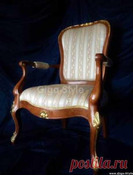 Резное кресло - Художественная мебель - Наши работы - Наши работы - Giga Style - семейная мебельная мастерская