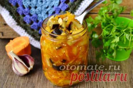 Салат из перца и баклажанов на зиму, рецепт с фото