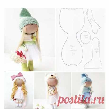 Выкройки кукол Выкройки куколВыкройки кукол, чтобы лучшие из них были сделаны детскими руками.