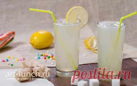 Безалкогольный имбирный эль - пошаговый рецепт с фото