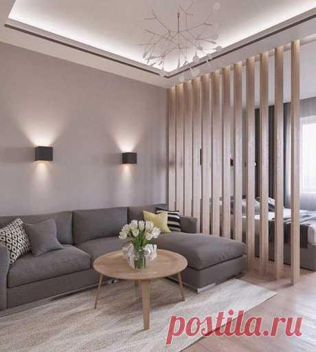 10 способов зонирования, которые позволят стильно и практично разграничить пространство | Мой дом