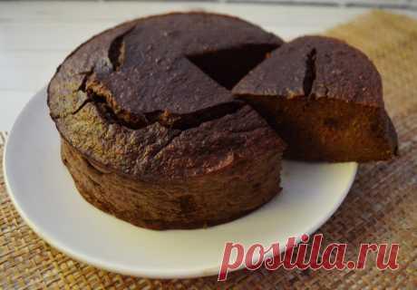 Рецепт Брауни без муки и сахара