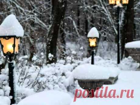 САЛЬВАТОРЕ АДАМО - ПАДАЕТ СНЕГ Снег кружится, Ты сегодня не придёшь....