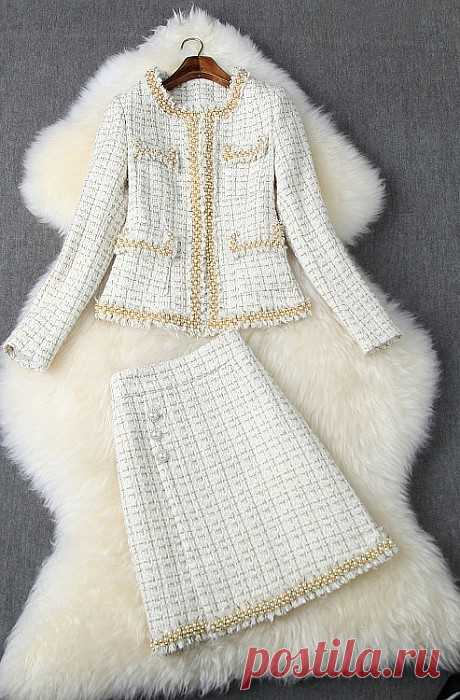Conjunto  W300283 - material: lã mistura