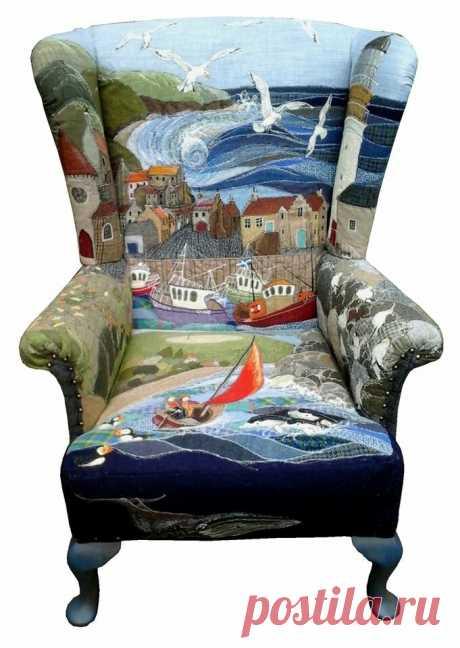 Кресла в стиле пэчворк или хендмейд из глубинки