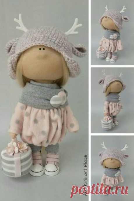 Nursery Decor Doll Textile Soft Doll Fabric Rag Doll Cloth | Etsy