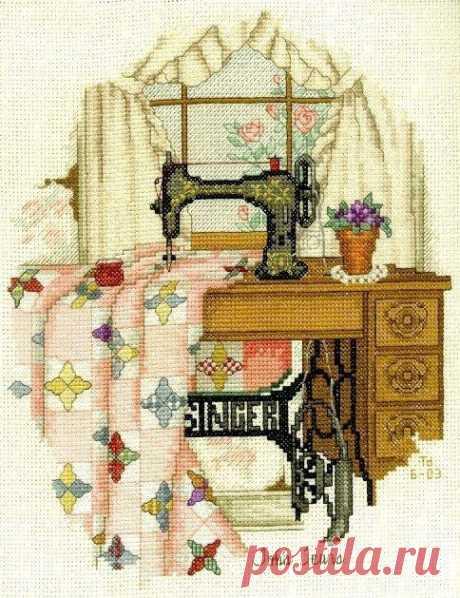 Схемы вышивки швейных машинок (трафик) / Вышивка / ВТОРАЯ УЛИЦА