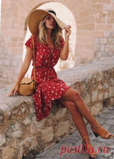 Независимо от фигуры, чайное платье по популярности бьет все рекорды этим летом   модница   Яндекс Дзен