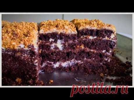 Быстрый шоколадный торт | Кулинария