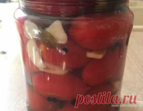 Маринованные помидоры с базиликом рецепт 👌 с фото пошаговый   Едим Дома кулинарные рецепты от Юлии Высоцкой