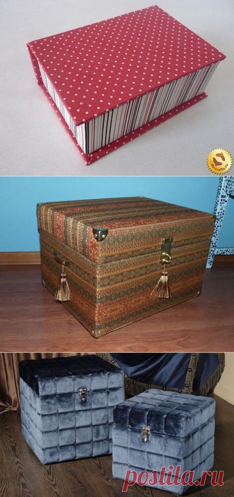 Красивые сундуки и коробочка для хранения мелких вещей